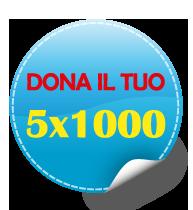 5x1000 logo