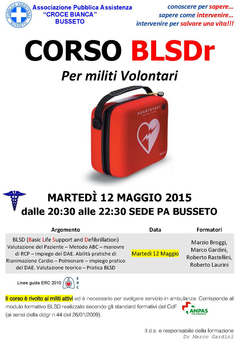Little Volantino Corso BLSD Retraining 12-05-2015